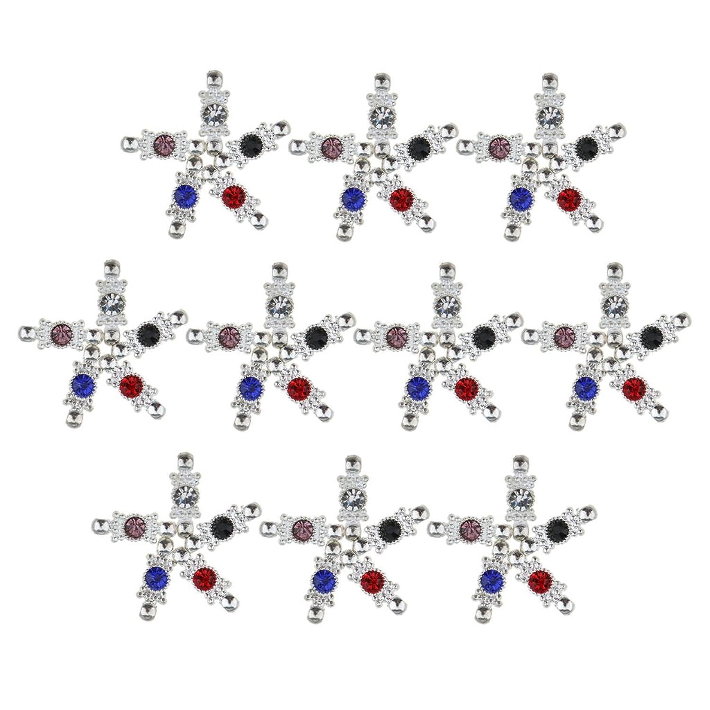 Baosity 50 Stück Charms Anhänger Steckverbinder mit kristall charm ...