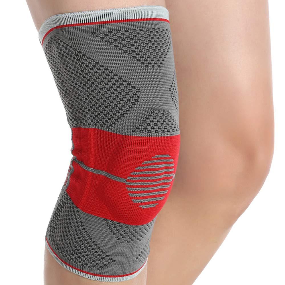 ZXQZ Kneepadメンズアンドレディーススポーツニーパッドプロフェッショナルバスケットボールランニングメニスカス傷害ジョイント靭帯ニーパッド(2パック) ニーパッド (サイズ さいず : L(41-44cm)) B07L8S6XGN XXL(47-50cm)  XXL(47-50cm)