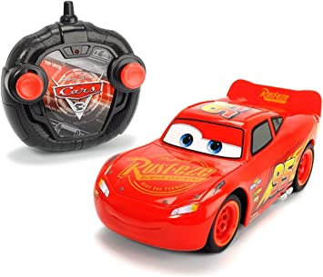 Cars 3 Turbo Racer Lightning Mcqueen Rayo Voiture RC MC Queen Echelle 1/24 (Simba 3084003): DICKIE TOYS: Amazon.es: Juguetes y juegos