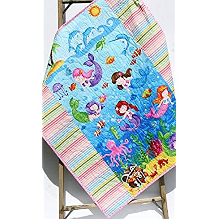 616sYYJvWgL._SS450_ Mermaid Crib Bedding and Mermaid Nursery Bedding Sets
