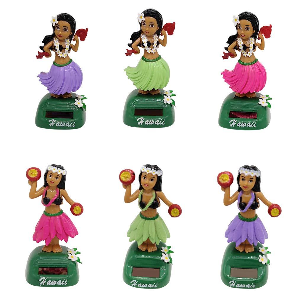 7ca9dddb4b94d B Blesiya Muñecas Hawaianas de Energía Solar Ornamento de Hogar Casa  Automóvil -  a  Amazon.es  Juguetes y juegos