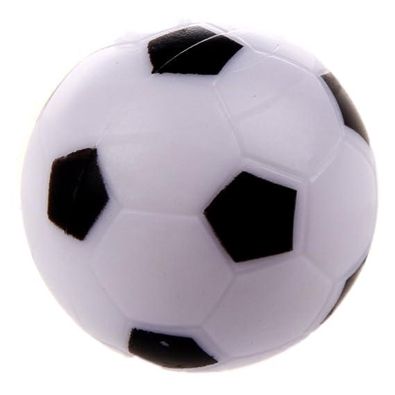 ba6e66fc5e TOOGOO Futbolin pequeno de futbol Bola de plastico duro de mesa Juguete de ninos  Blanco negro  Amazon.es  Juguetes y juegos