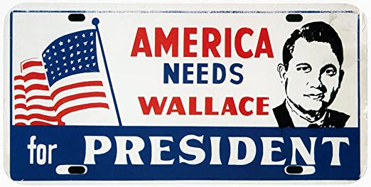 1968 License Plates of America poster
