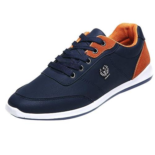 dd544ed2 LHWY Zapatillas Mocasines de Deportes Zapatillas de Deporte de Moda para  Hombre Zapatos Casual para Caminar