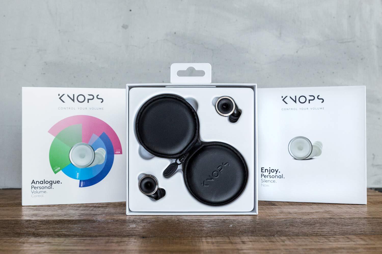 Knops Volume Control Ear Plugs (Original Black)