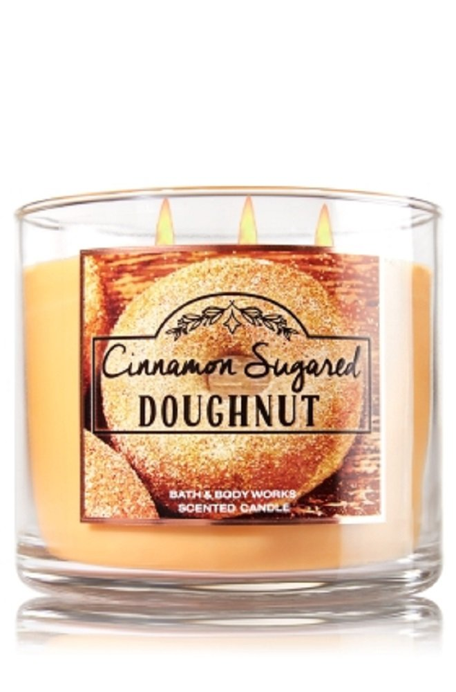 Bath & Body Works 3-Wick Candle in Cinnamon Sugared Doughnut