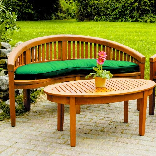 Incredible Achla Designs Monet Bench Ofb 09 Natural Wood Evergreenethics Interior Chair Design Evergreenethicsorg