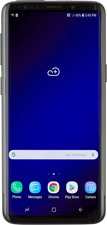 Samsung Galaxy S9 AT&T Locked - 64gb - (Midnight Black, Galaxy S9) (Renewed)