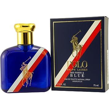 d93b792c6f7 Ralph Lauren POLO RED WHITE   BLUE Eau De Toilette Spray 75ml (2.5 ...