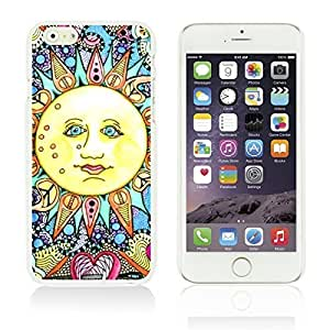 Funny Pattern Hardback Case Cover For Ipod Touch 5 Smartphone Psychedelic Sun