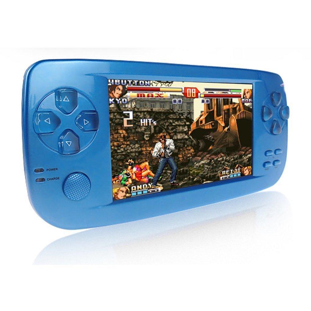 Handheld Spiele Konsolen, 4,3 Zoll 16GB Portable Video Game Errichtet in 3000 Spiele mit Kamera Neue Version (Blau) CHUANGXINYOUPIN pap-k3