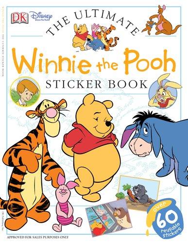 Ultimate Sticker Book: Winnie the Pooh (Ultimate Sticker Books)