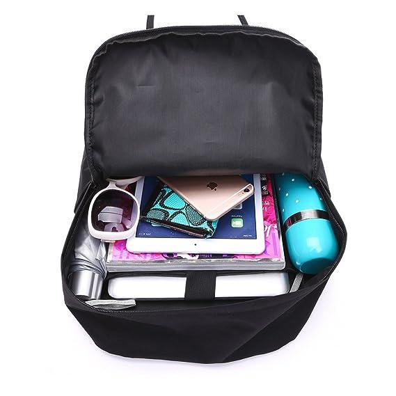 Amazon.com | YingTech Lady Boy Girls Backpack Women Preppy School Bags For Teenagers Men Oxford Travel Bags Girls Laptop Backpack Mochila (Black) | Kids ...