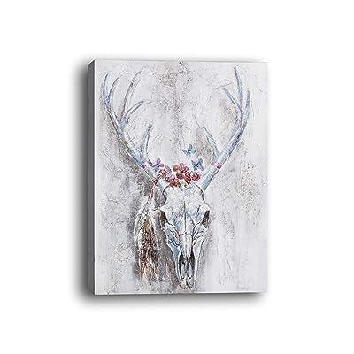 bienddyicho Arte de Pintura Colgante Moderno Pintado para la decoración de Fondo Colgante de Pared PH-06125 -Rojo: Juguetes y juegos