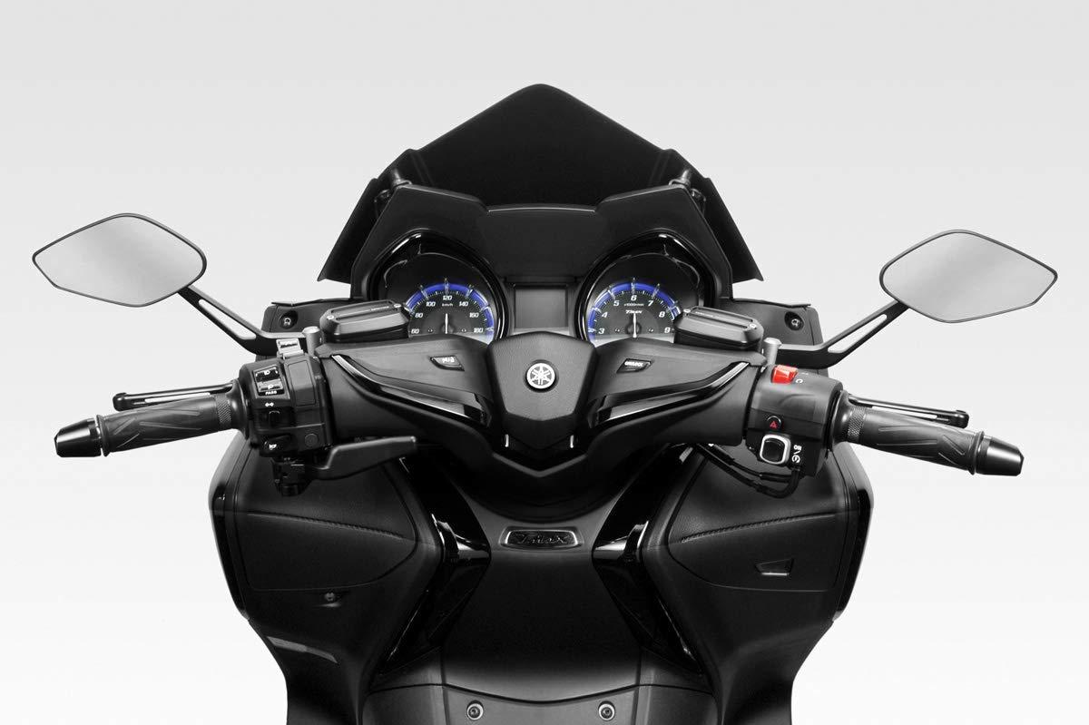 R-0838 - 100/% Made in Italy Alluminio Kit Specchi Revenge CL DPM Race - Omologati TMAX 530 2012//16 Specchietti Retrovisori Manubrio Laterali Accessori De Pretto Moto