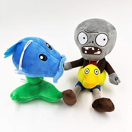Zombies Plush Toys Doll Pea Shooter 17cm Plants Vs