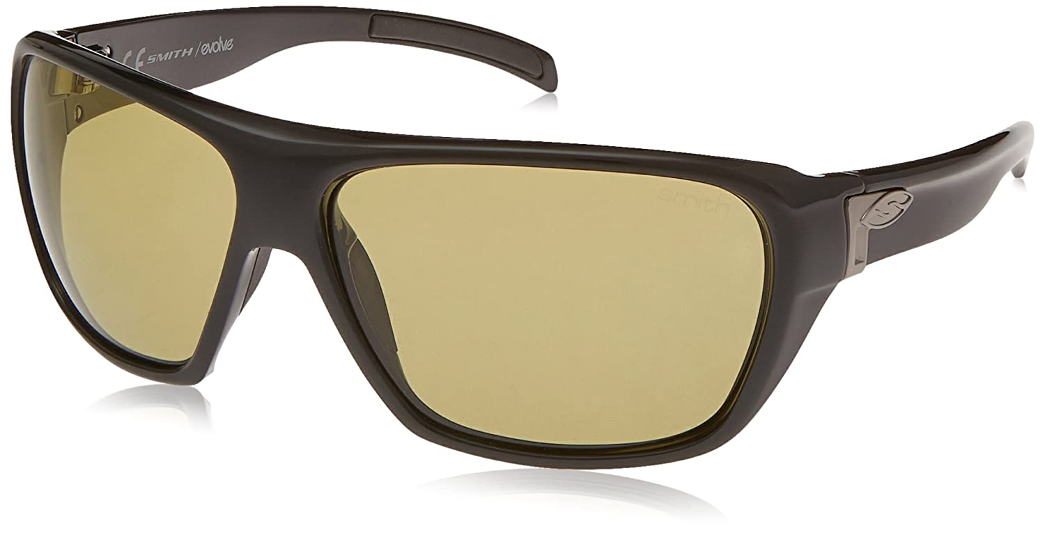 3e07e88f3ec2 Smith Optics Chief Sunglasses (Black Frame Low Light Ignitor Polarized Lens)   Amazon.co.uk  Sports   Outdoors