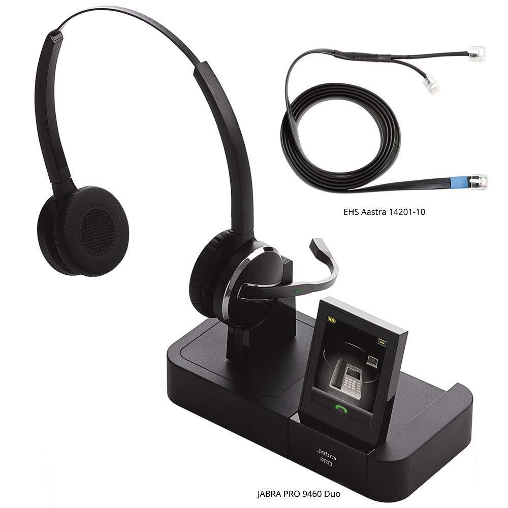 Amazon.com: Jabra PRO 9460 Duo - Professional Wireless Unified Communicaton  Headset: Cell Phones & Accessories