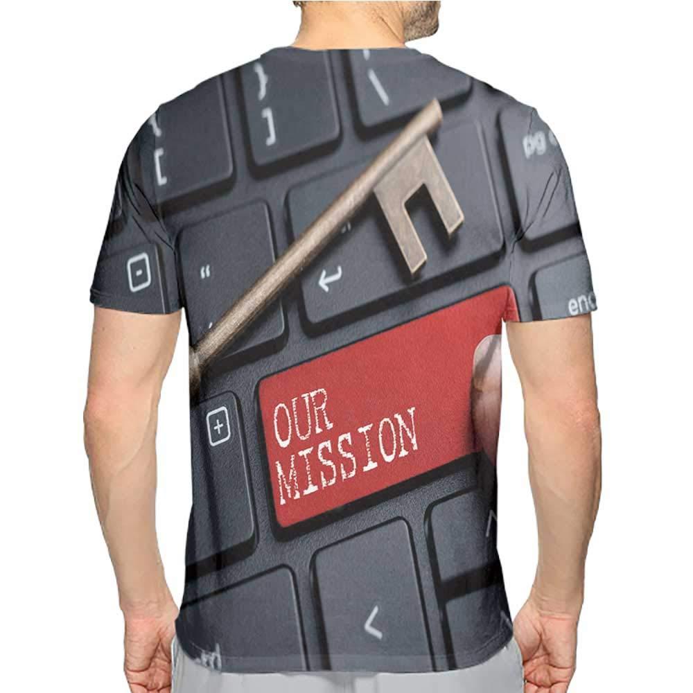 Jiahong Pan T-Shirt Tall Men Fashion Mens 3D Top Tees