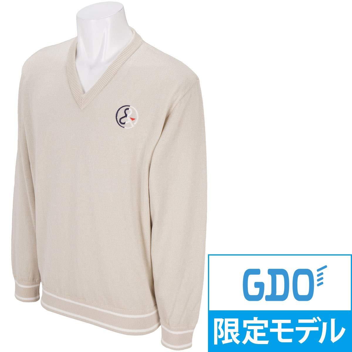 アンパスィ and per se 中間着(セーター、トレーナー) セーター B07JVG3JDD L|ブラウン ブラウン L