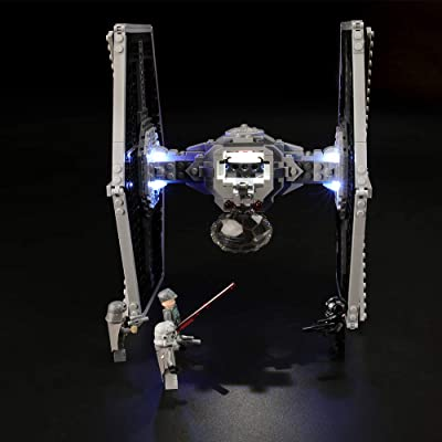 LIGHTAILING Light Set for (Star Wars Imperial TIE Fighter) Building Blocks Model - Led Light kit Compatible with Lego 75211(NOT Included The Model): Toys & Games