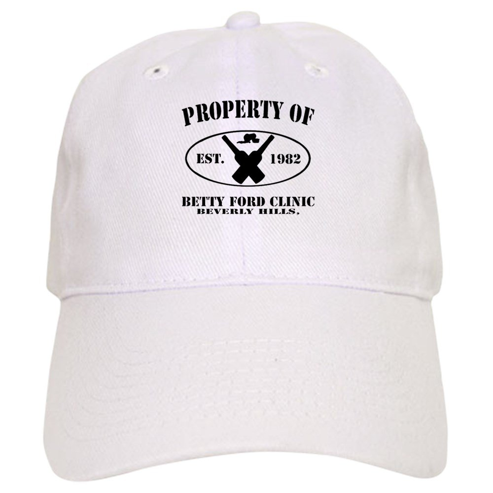 0662acce4e6bf Amazon.com  CafePress - Property of Betty Ford Clinic Cap - Baseball Cap  with Adjustable Closure