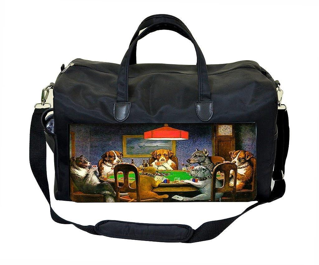 Poker Dogs Weekender Bag