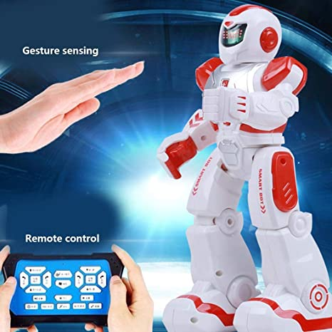 Amazon com: Dickin Remote Control Intelligent Robot