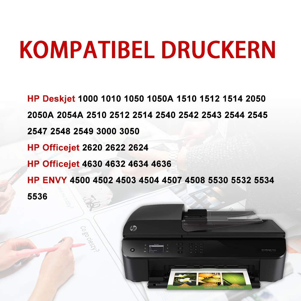 Kingway Remanufactured HP 301 301XL Multipack Cartuchos de ...