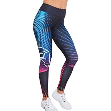 VertrauenswüRdig Frauen Leggings Sport Fitness Hohe Taille Hosen Kompression Jogginghose Womens Training Strumpfhosen Training Fitness Sport Laufhose Hosen