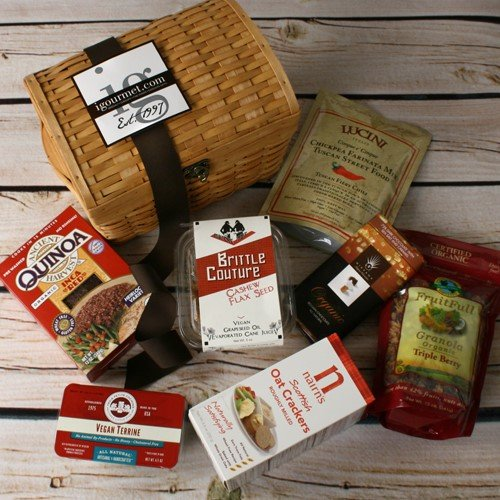 Vegan Delights Gift Basket (3.4 pound)