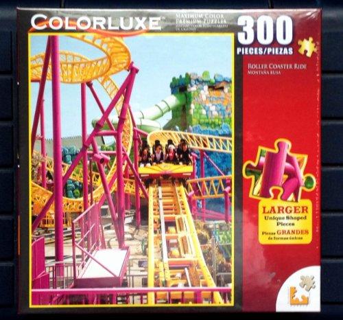 Colorluxe 300 Piece  Roller Coaster Ride  Puzzle