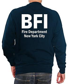 feuer1 Sudadera Marina, bfi (Bureau of Fire Investigation/Fire Marshal) New York City: Amazon.es: Deportes y aire libre