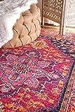 nuLOOM Vonda Fancy Persian Accent Rug, 2' x 3', Pink
