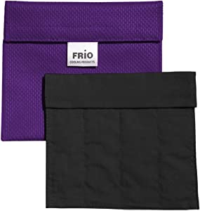 FRIO Insulin Pen Cooling Case, Reusable Evaporative Medication Cooler - Extra Small Wallet, Purple