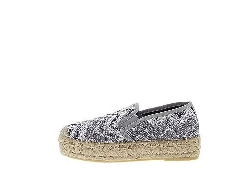 Vidorreta - Alpargatas para mujer plateado Size: 36: Amazon.es: Zapatos y complementos