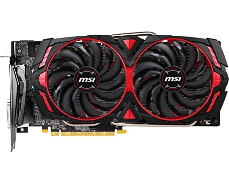 MSI RX 580 Armor MK2 8G OC Radeon RX 580 8GB GDDR5 Tarjeta gráfica ...