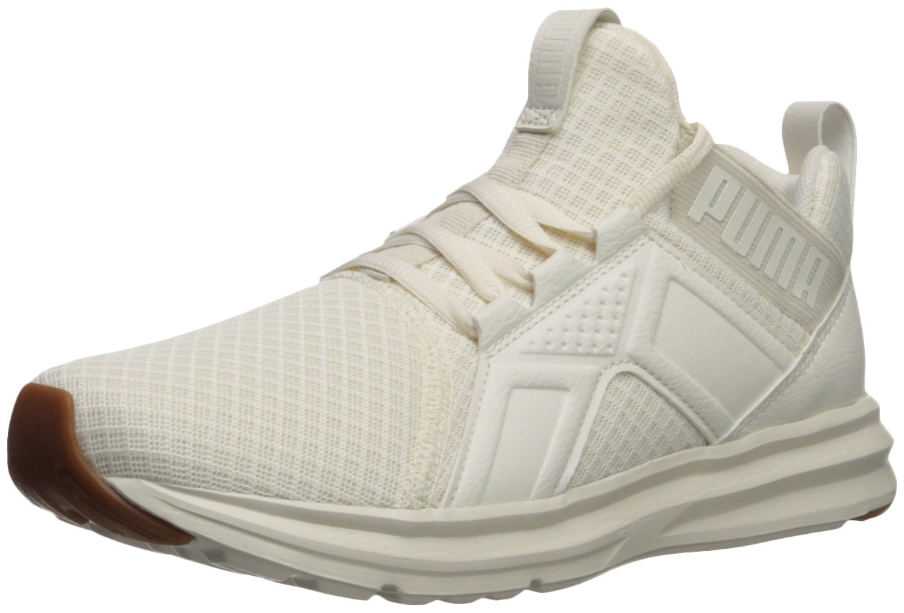 Puma Damen Enzo Premium Mesh Schuhe  41 EU|Whisper White