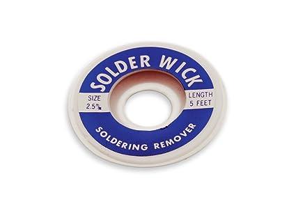 Resultado de imagen de Aven 17542 Desoldering Wick, 2.5mm Width, 5′ Length