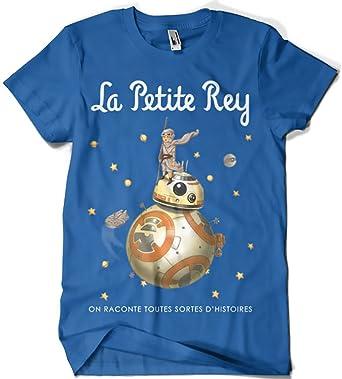 Camisetas La Colmena, 214-Camiseta Star Wars - La Petite Rey (Saqman): Amazon.es: Ropa y accesorios