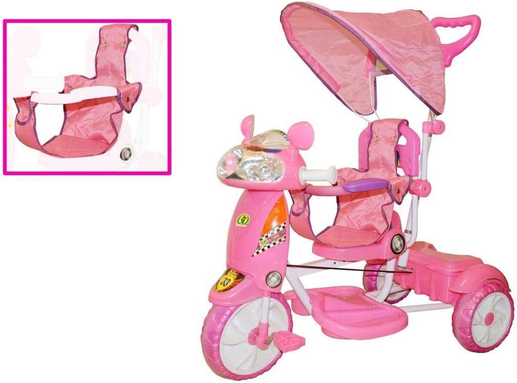triciclo girl con cappottina  0005108  Mazzeo