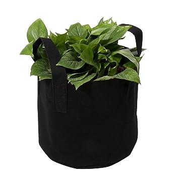 5 unidades bolsas de cultivo de flores y verduras de 3,78/7,57/11 ...