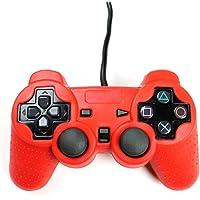 Playstation 2 Silikon Schutzhülle Controller Hülle für PS2 Rot