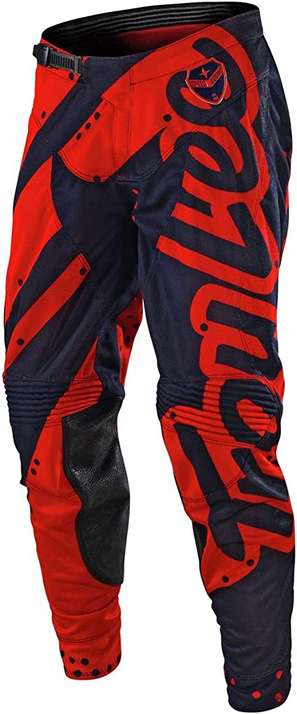 32, Honey//Red Troy Lee Designs Mens Offroad Motocross SE Air Pant Shadow