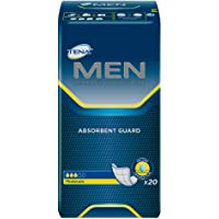 TENA Men Incontinence Protective Guard, Level 2, 20 Count