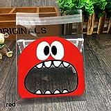 DeemoShop Cute Big Teech Mouth Monster Plastic