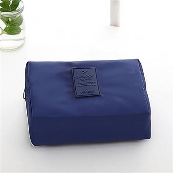 5612cbcf9e60 Amazon.com   Wash Makeup Cosmetic Bag Necessaire Necessaries For Women  Organizer Toiletry Kit Case Beauty Make Up Necesser Purse   Beauty