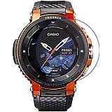 MOTONG For Casio PRO Trek Screen Protector - MOTONG Tempered Glass Screen Protectors For Casio PRO Trek Smart WSD-F30-BKAAE,9