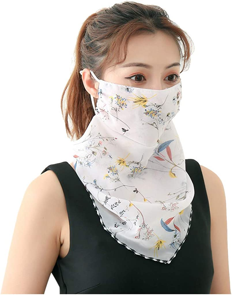 MITCOWBOYS Outdoors Sports Neck Cover Multifunctional Headwear Motorcycle Face Covering for Women Men Heanband Scarf