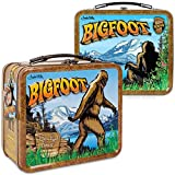 Bigfoot Sasquatch Retro Tin Snack Lunch Box